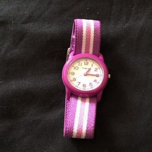 Purple children's watch